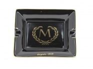 Cendrier Cigare de Luxe Noir Myon