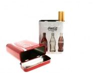 Boite à cigarettes Coca-Cola rouge