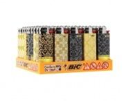 50 briquets Bic mini à pierre Curtain