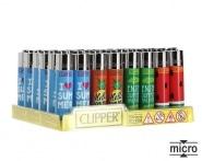 Briquet Clipper Micro Summer x 48