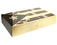 """Cave a cigare Elie Bleu Stars & Stripes """"Cuba"""" 110 cigares Edition limitée"""