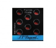 Pierres de briquet S.T. Dupont rouges 650