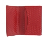 Porte Cartes de Visite Filofax Adelphi Rouge