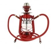 Chicha Coney Lampe à pétrole LED Rouge