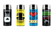 Briquet Clipper Gamers lot de 4
