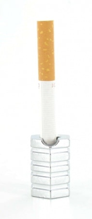 Etouffoir à cigarettes Hexagone Chromé