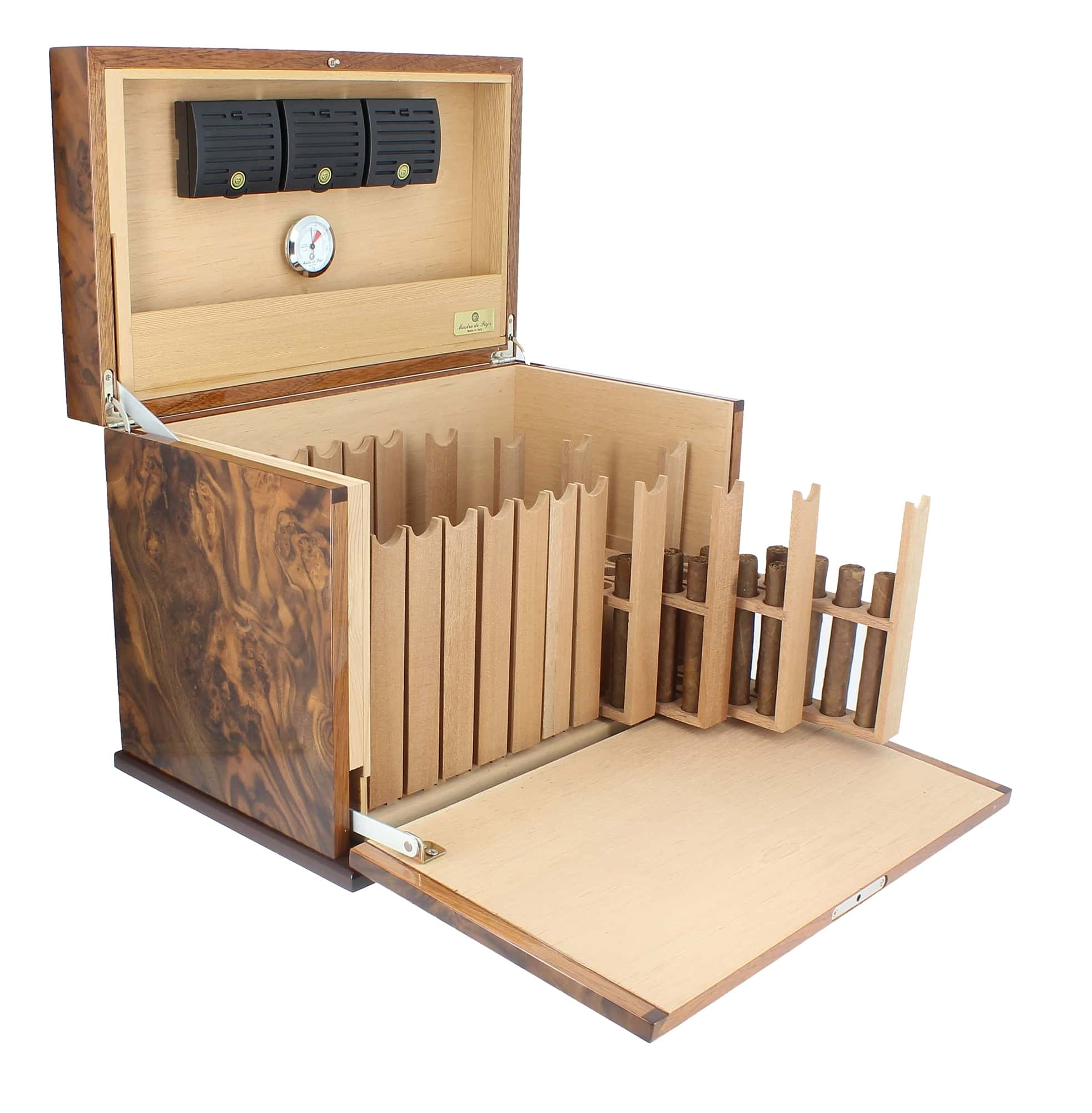 armoire cigares mastro de paja 1380 00. Black Bedroom Furniture Sets. Home Design Ideas