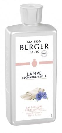 Parfum maison Lampe Berger Lin en Fleurs