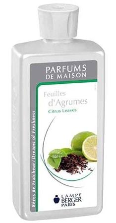 Parfum maison Lampe Berger Feuilles d'Agrumes