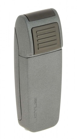 Briquet Lotus Retro Double Jet Gris