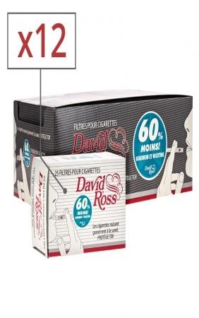Filtre David Ross Regular 12 Boites de 25