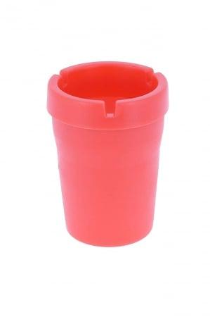 Cendrier exterieur design rouge