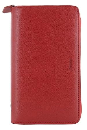 Agenda Filofax Compact Pennybridge Zip Rouge