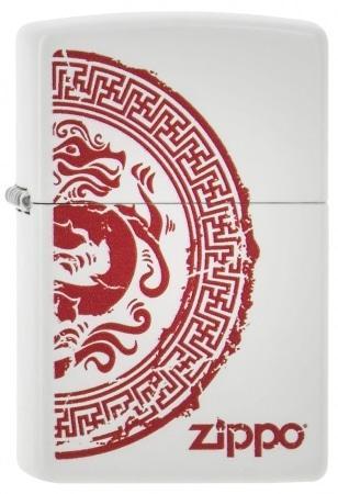 Zippo Dragon Rouge