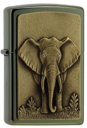 Zippo Éléphant 3D Miroir