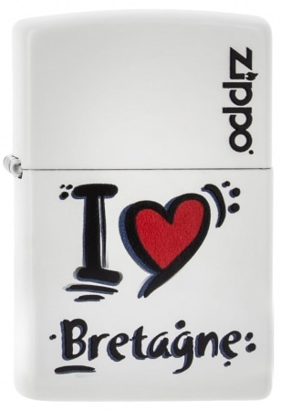 Zippo I Love Bretagne