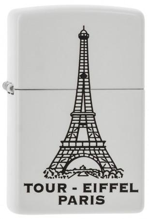 Zippo Tour Eiffel Blanc