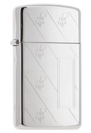 Zippo High Polish Chrome Diagonal 851011