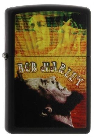 Zippo Bob Marley couleurs