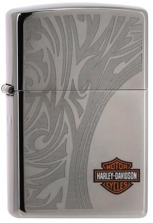 Zippo Harley Davidson Tribal