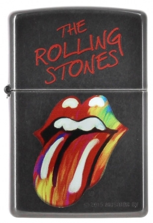 Zippo Rolling Stones Color Tongue