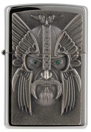 Zippo Viking Green Eyed