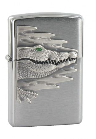 Zippo Tête de Crocodile