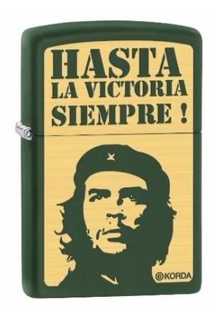 Zippo Che Guevara green matte