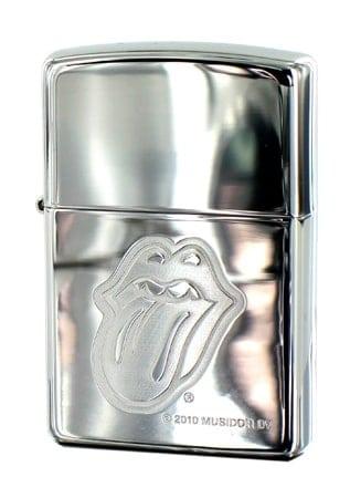 Zippo Rolling Stones Chromé