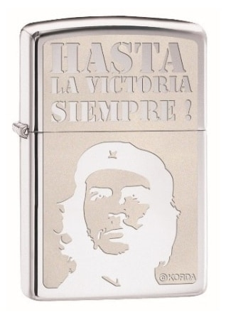 Zippo Che Guevara high polish chrome
