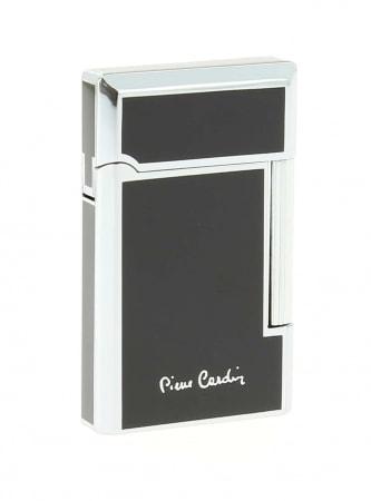 Briquet Pierre Cardin noir/argent 11510