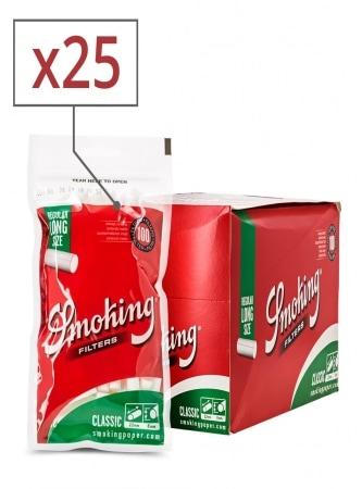 Filtres Smoking Classic Régular Long x 25 sachets