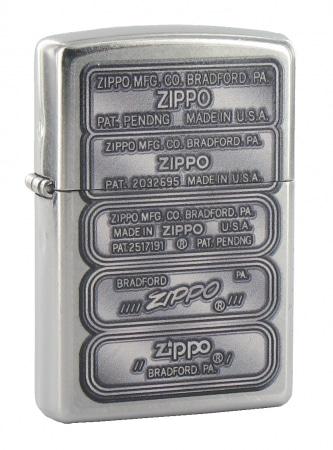 Zippo Bottom Stamps