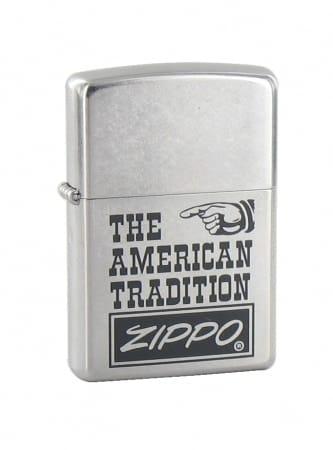 Zippo The American Tradition Street Chromé