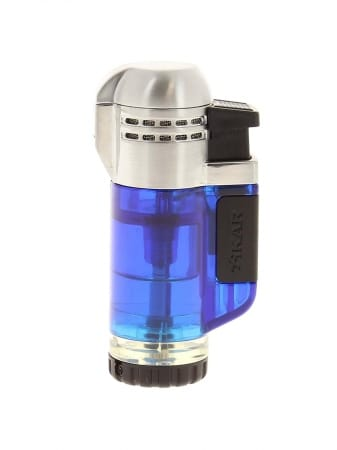 Briquet XIKAR Double Flamme 526 Bleu