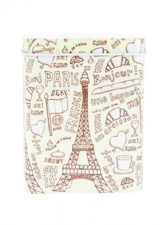 Boite a cigarette Paris Symboles