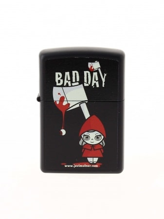 Zippo Bad Day Red Girl