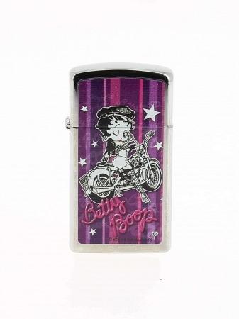 Zippo Betty Boop Purple Street