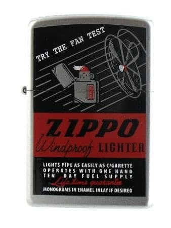 Zippo The Fan Test