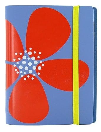 Agenda Filofax Pocket Pétal Bleu
