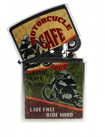 Zippo Vintage Motorcycle Café Club
