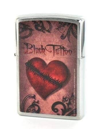 Zippo Black Tattoo