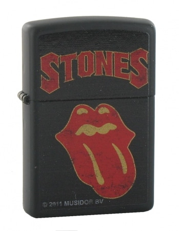 Zippo Rolling Stones Black Tongue