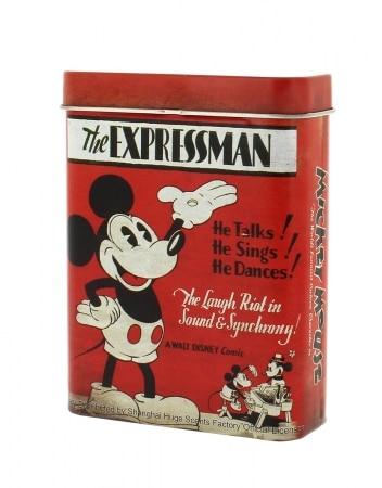 Boite a cigarette Mickey Mouse Rouge