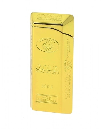 Briquet Turbo Lingot d'Or