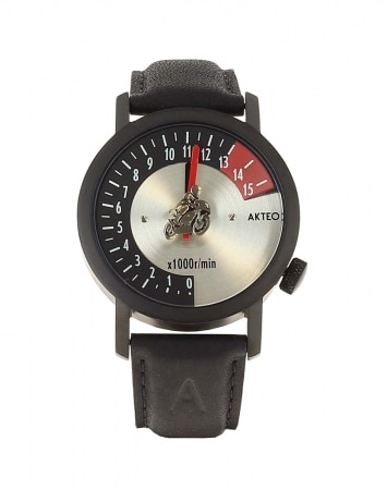 Montre Akteo Moto Course 42 Black