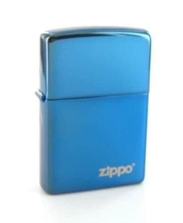 Zippo Sapphire Logo 88z881