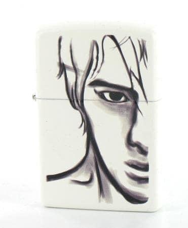 Zippo Blanc Face