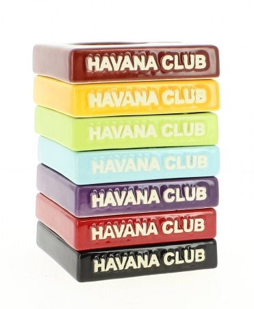 Cendrier Havana Club Solito Bleu