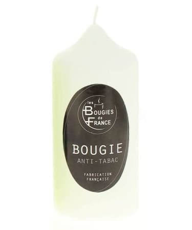 Bougie Anti Tabac Blanche